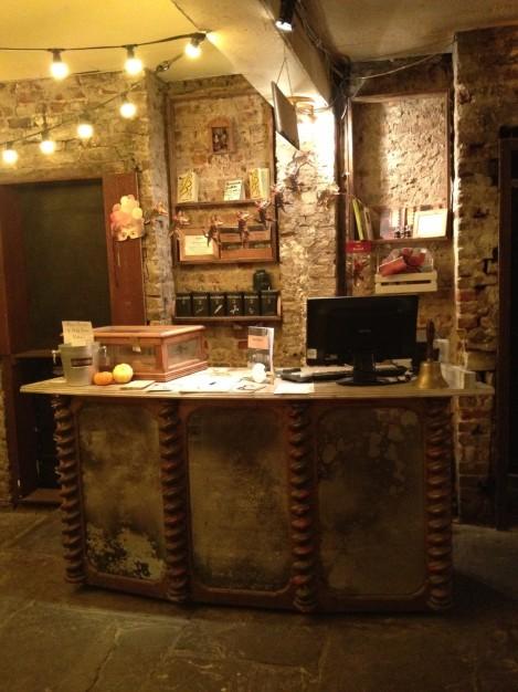 Wilton's Front desk