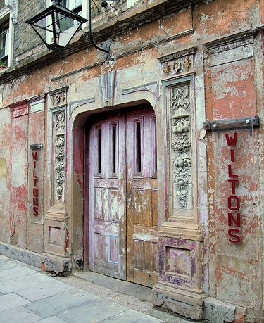 Wilton's Music Hall - Front Door