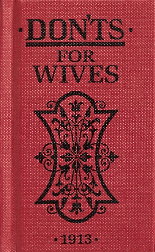 Don'ts for wives
